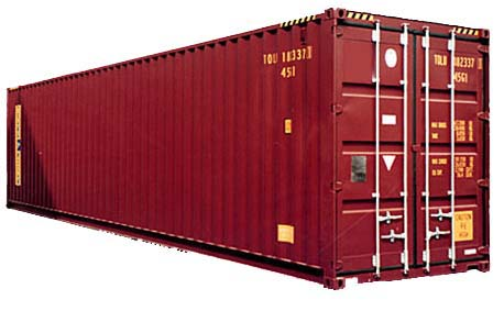 Standard container High Cube - 40 футов